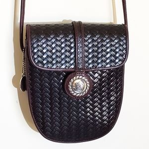 BRIGHTON | Basket Weave Crossbody Bag